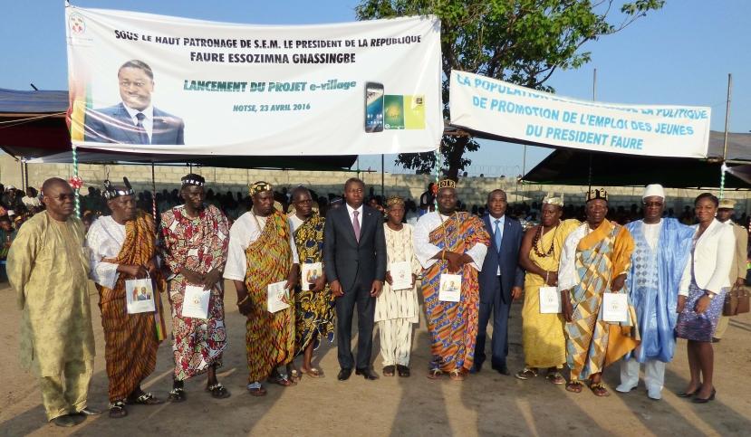Le Togo lance son projet e-village