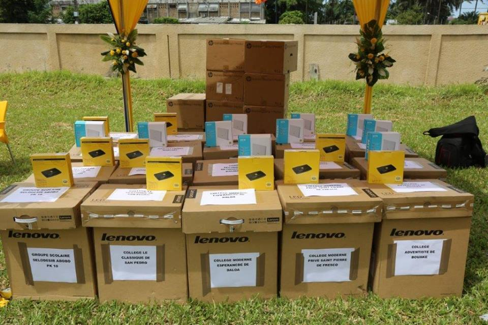 Ivory Coast: MTN foundation offers 200 computers to 20 schools