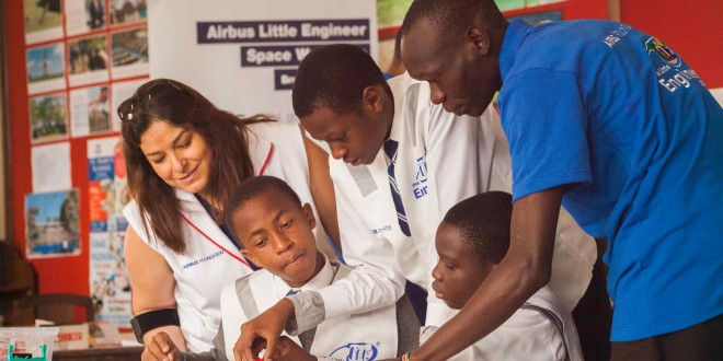 La fondation Airbus étend ses formations  à l'Afrique