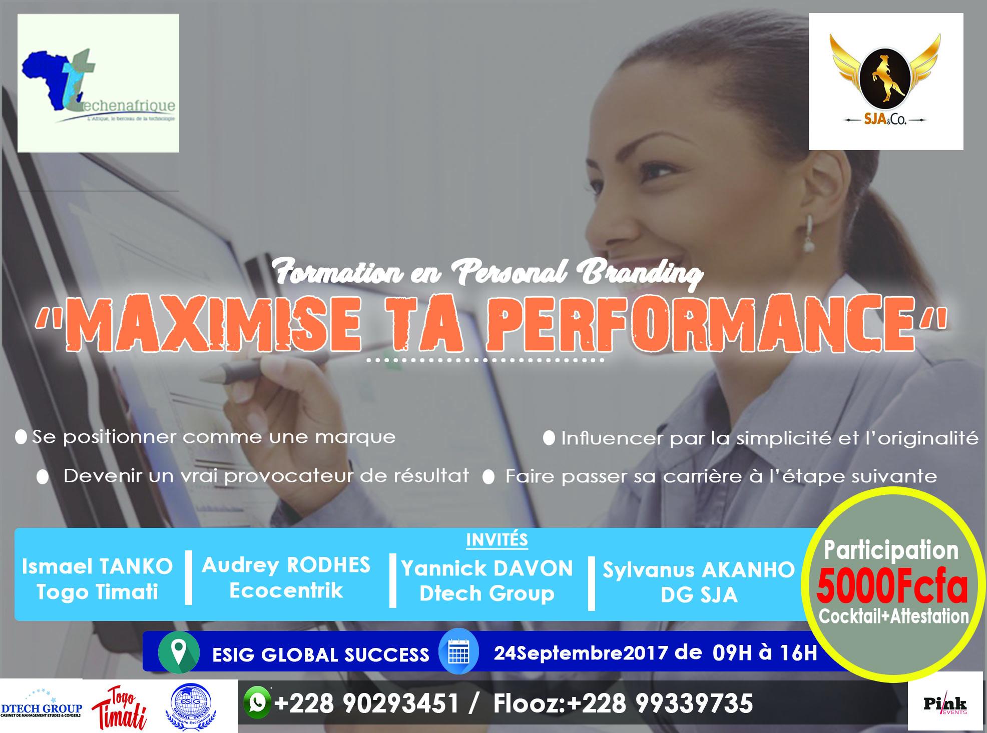 Maximise ta performance