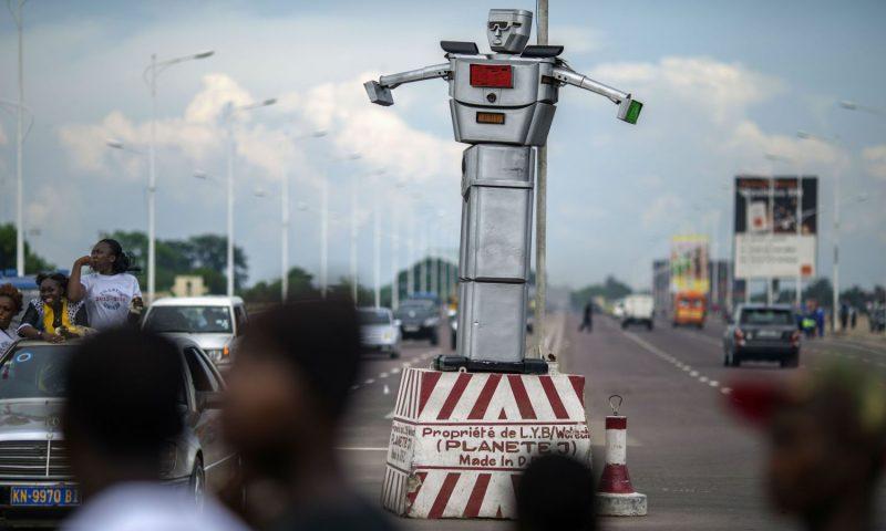 En RDC , des robots régulent la circulation