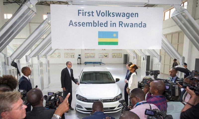 Au Rwanda, le constructeur automobile Volkswagen prend place