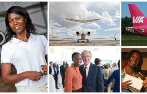 Susan Mashibe, la femme la plus influente de l'aéronautique en Afrique