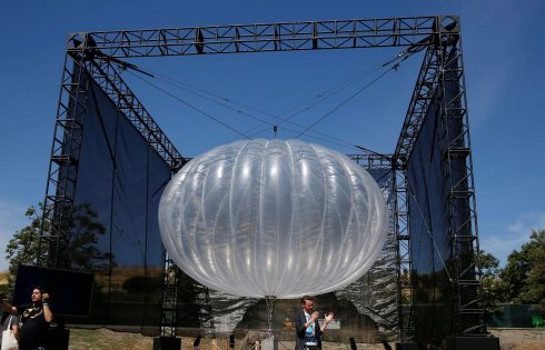 Kenya : Google veut fournir la connexion grâce à des  ballons flottants