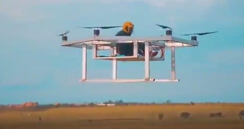 Le Kenya réussit le test de son drone à passagers