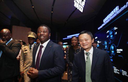 Faure Gnassingbé chez Jack Ma