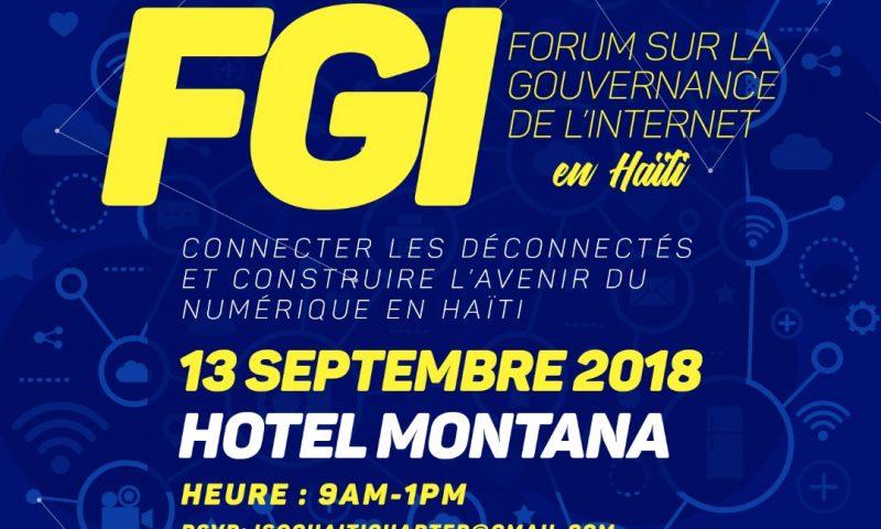 Haïti tient son premier forum sur la Gouvernance de l'Internet