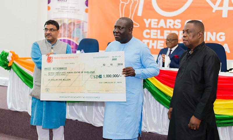 Ghana/Formations aux TIC : l'Inde offre 1 million usd