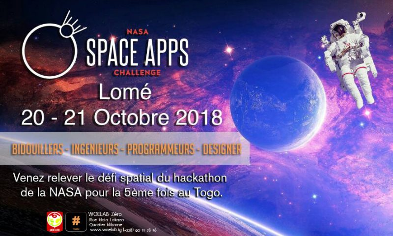 Le Togo s'apprête pour  l'International Space Apps Challenge