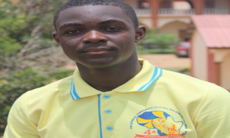Jean Claude Konou, développeur à 16 ans