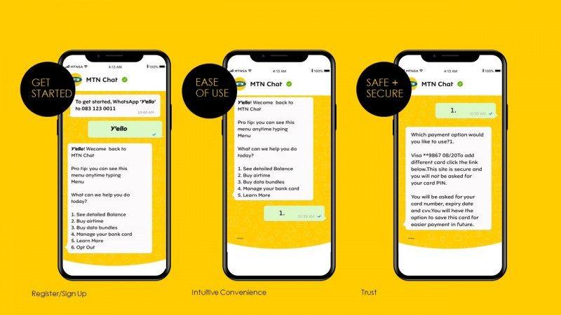 Afrique du sud: MTN intègre l'achat de forfaits internet à WhatsApp