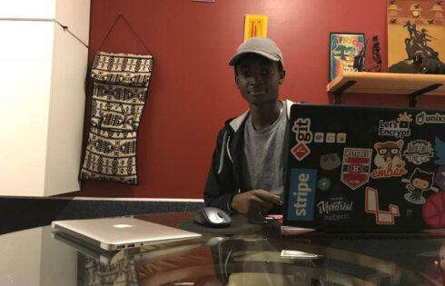Un jeune sénégalais conçoit un drone 'intelligent'