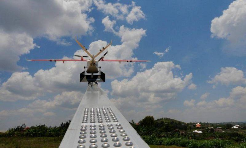 Au Ghana, les drones livrent des médicaments