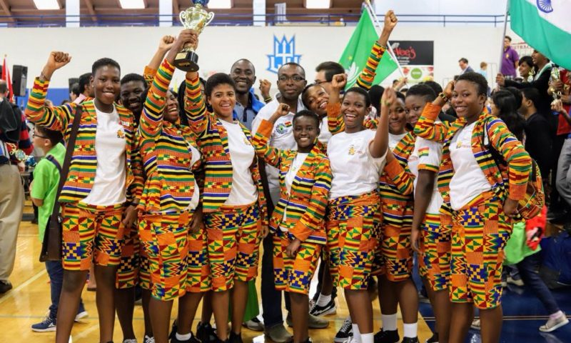 Robofest 2019: Une équipe féminine du Ghana, championne du monde
