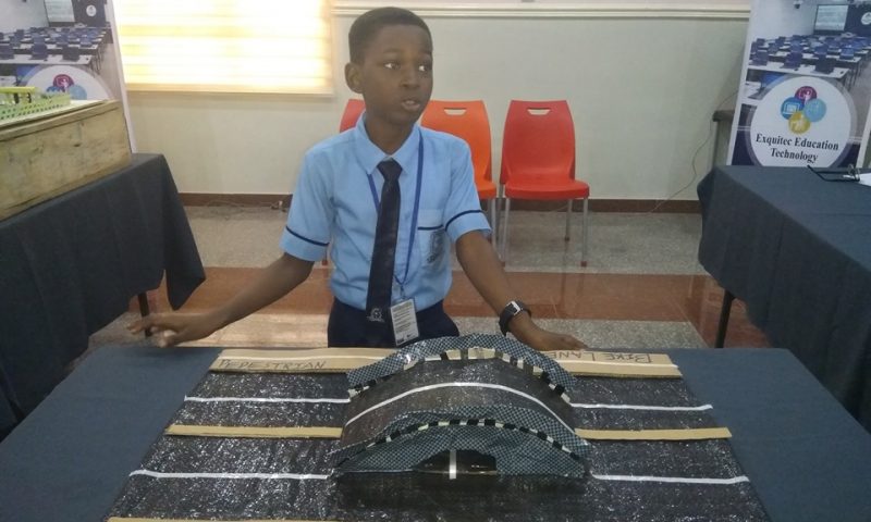 Exquitec Educational Technology : Olurinola O. (10 ans) est vainqueur