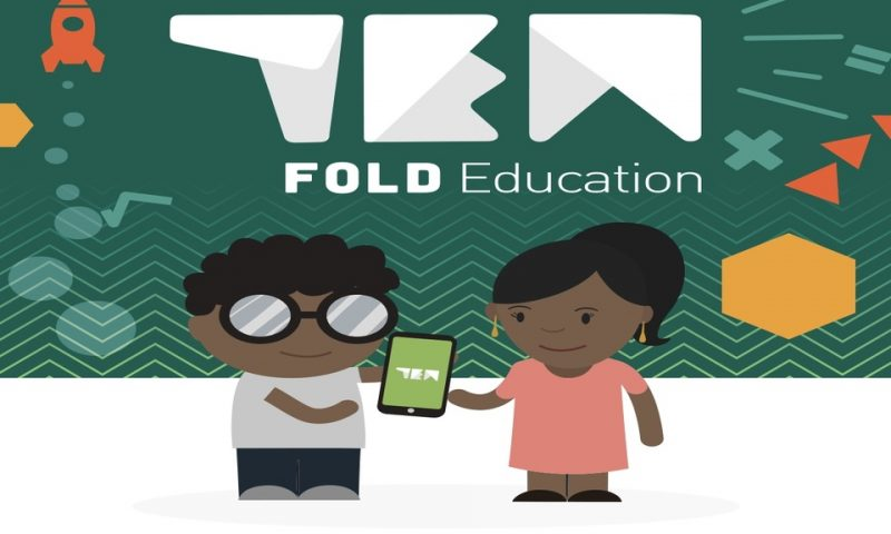 Ten Fold education/ Des cours de science disponibles sur mobile