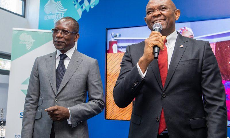 Tony Elumelu rencontre des entrepreneurs au Bénin