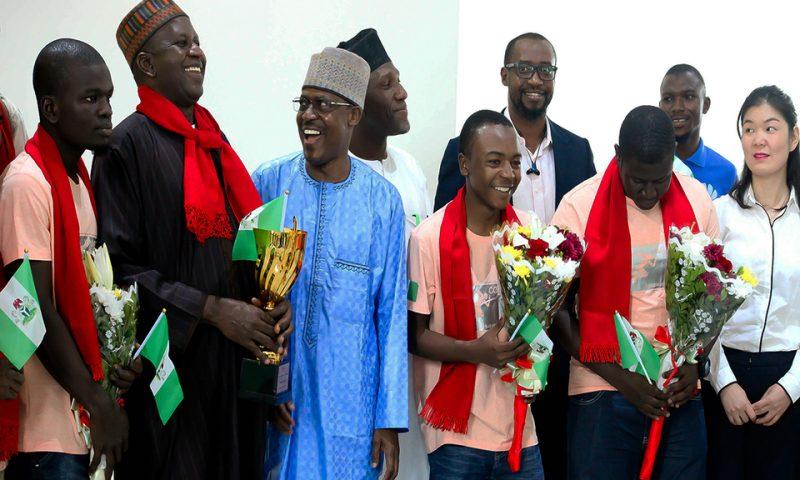 Nigeria : 3 étudiants gagnent le concours mondial Huawei ICT