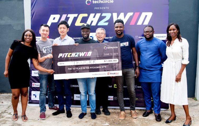 Ghana : Truckrtech sort vainqueur de la TechCircle Pitch2Win 2019