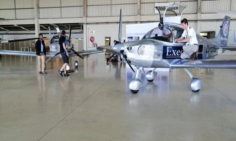 Afrique du sud : Des étudiants construisent un avion