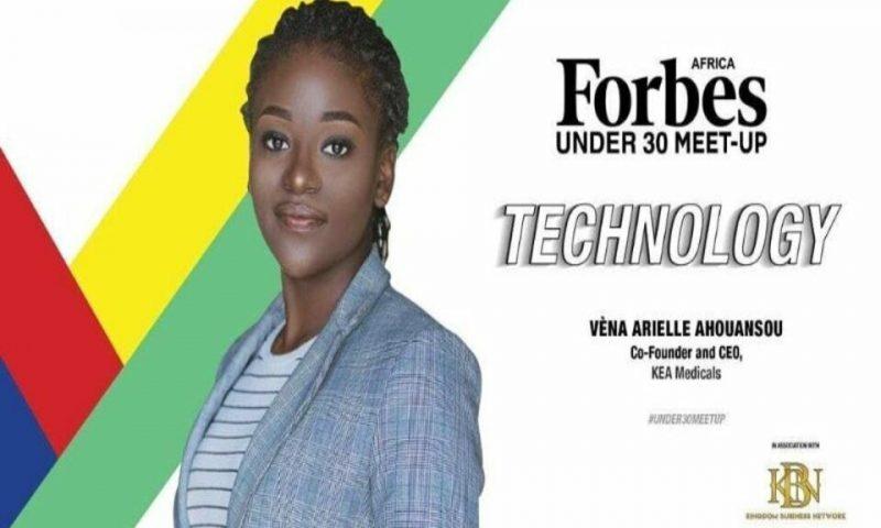 Classement Forbes 30/ Vèna Arielle Ahouansou est 11 ème