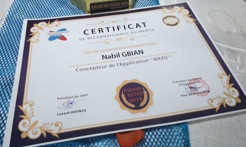 Bénin : Le prix de l'innovation technologique 2019 revient à Waxu