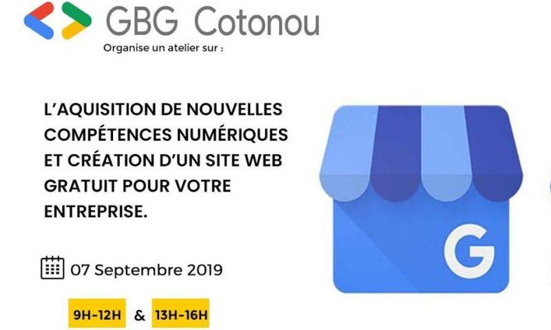 Togo : GBG Cotonou forme en création de site et Google My Business
