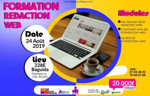 Togo : Une formation en rédaction web s'annonce pour fin août