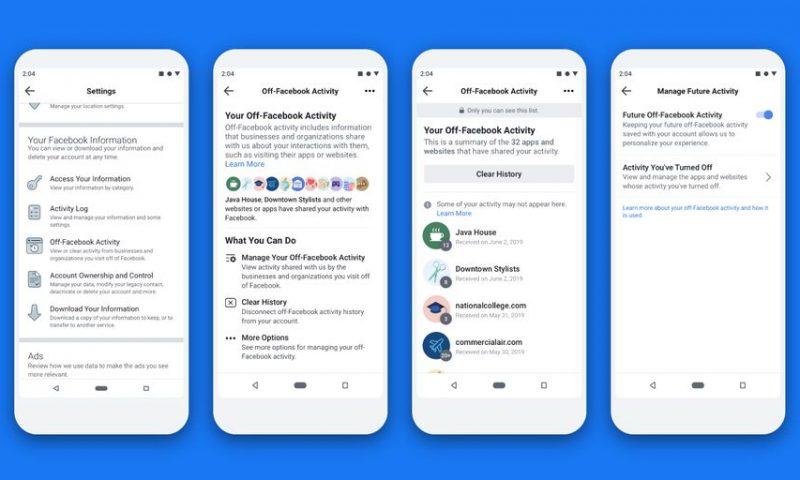 Facebook permet aux utilisateurs de mieux contrôler leurs données