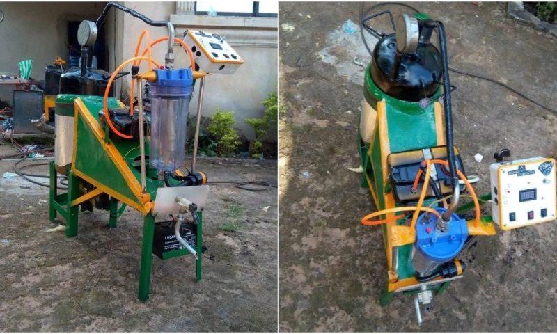 Nigeria : Emeka Nelson conçoit un générateur fonctionnant à l'eau