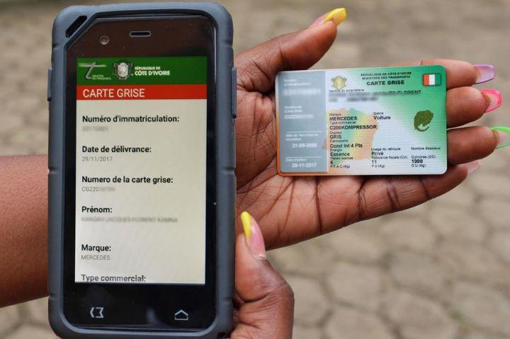 Côte d'Ivoire : Introduction d'un terminal mobile de contrôle routier