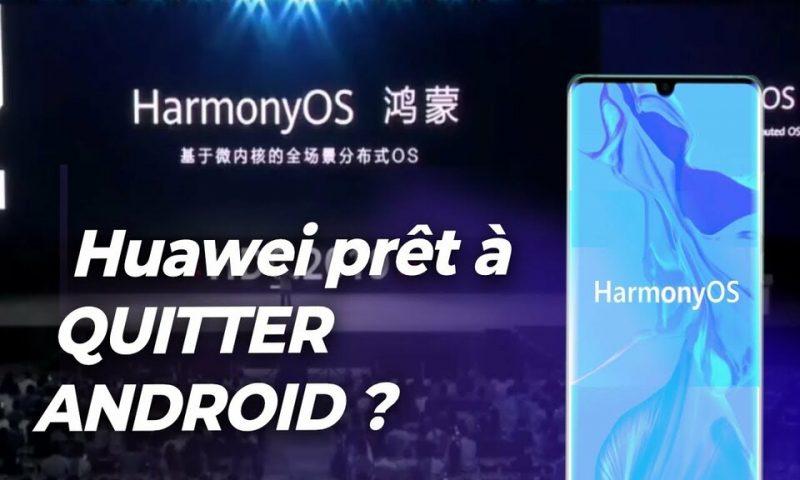 Harmony OS, Huawei a enfin  son propre système d'exploitation