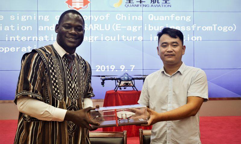 Edeh Dona Etchri va vulgariser les drones agricoles en Afrique de l'ouest