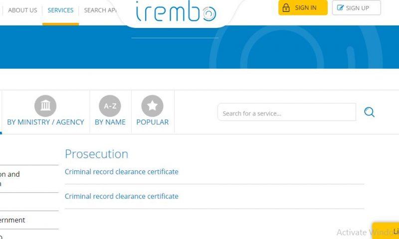 Au Rwanda, le casier judiciaire s'obtient désormais en ligne