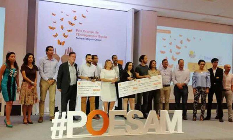 Orange Tunisie dévoile les Trois lauréats du prix de l'Entrepreneur Social