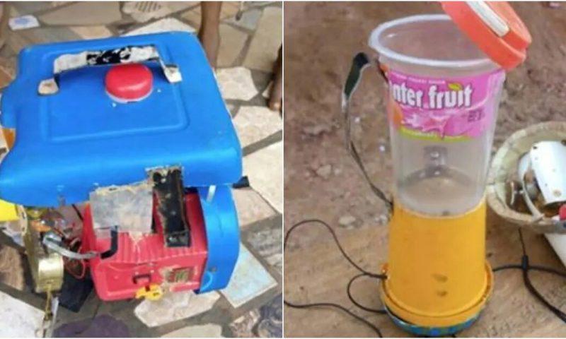 Nigéria : A 6 ans, il construit un générateur à base de déchets plastiques