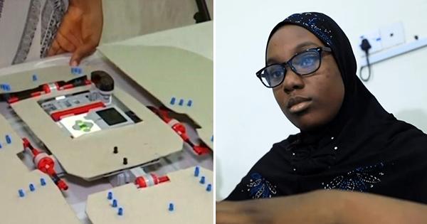 Nigeria : Fathia Abdullahi (12 ans) crée un robot de pliage de linge
