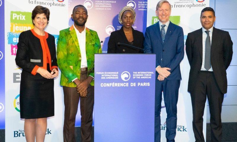 Le Prix Jeune entrepreneur francophone a ses lauréats