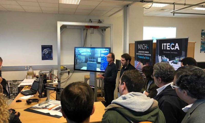 Inauguration du LabCom Mach4