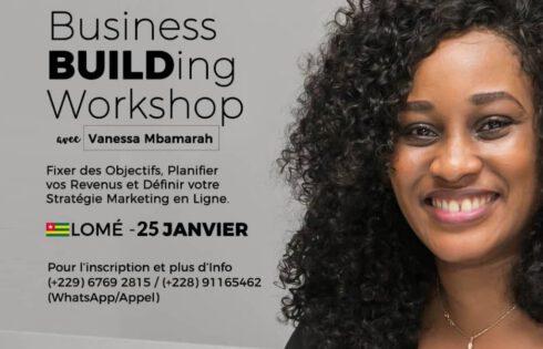 Togo/ Le Business BUILDing Workshop est prévu pour Janvier 2020