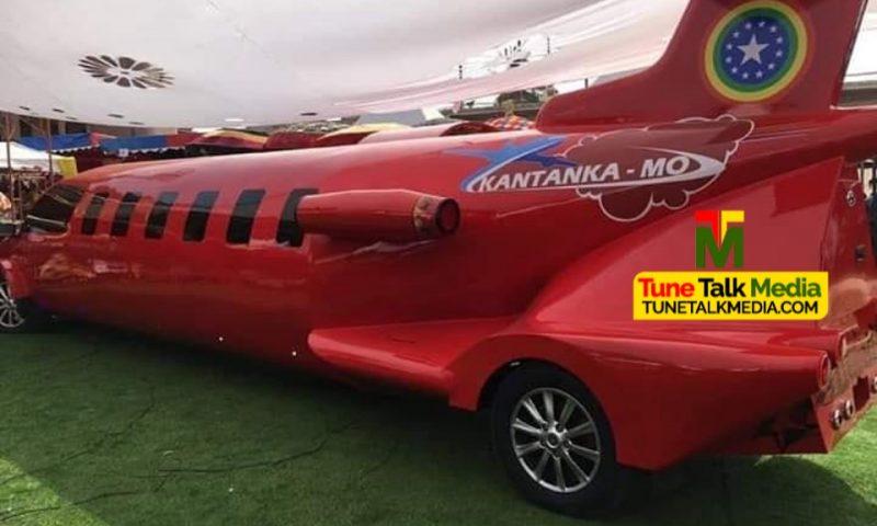 Kantanka lance une voiture en forme d'avion au Ghana