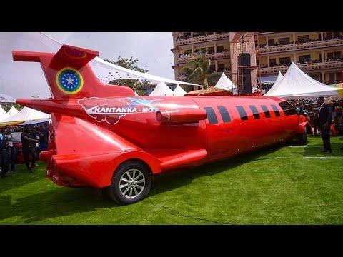 Ghana :Kantanka lance une voiture en forme d'avion