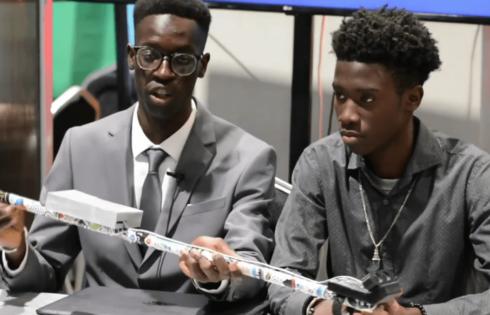 Sénégal : Une canne intelligente pour personnes non-voyantes