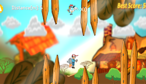 Fun JetPack, le nouveau jeu vidéo mobile de Sam Kodo