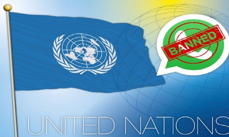 L'utilisation de WhatsApp est déconseillée au sein des Nations Unies