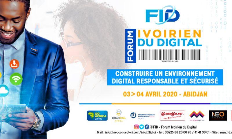 Le Forum Ivoirien du Digital, c'est du 3 au 4 avril prochain