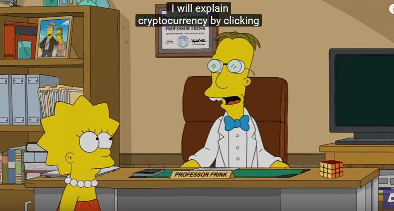 Les Simpson : « les cryptomonnaies représentent l'argent du futur » (vidéo)