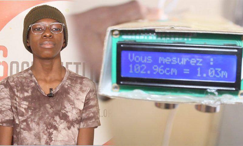 Sénégal : A 16 ans, il crée un dispositif montrant automatiquement votre taille
