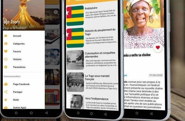 Togo Zoom, une application mobile qui embrasse l'actualité