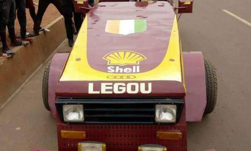 Des véhicules de course fabriqués par l'Ivoirien Daniel Legou